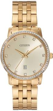 Citizen Men's Crystal Stainless Steel Watch - BI5032-56P