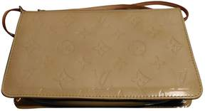 Louis Vuitton Pochette Monogramme leather clutch bag - BEIGE - STYLE