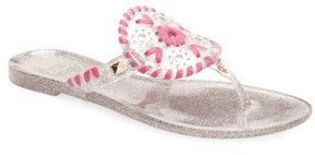 Jack Rogers Girl's 'Miss Georgica' Jelly Sandal