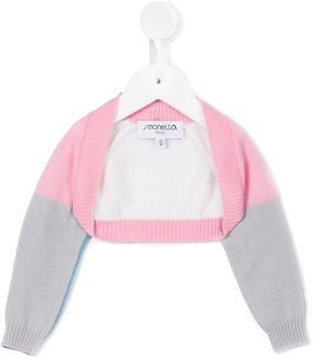 Simonetta colour block cardigan