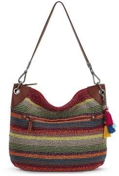 The Sak Collective Crochet Soto Striped Hobo Bag