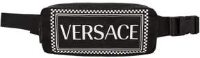 Versace Black Vintage Logo Belt Bag
