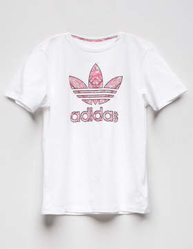 adidas Patch Fill Trefoil Girls Tee