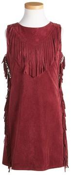 Ella Moss Cali Fringe Sleeveless Dress (Big Girls)