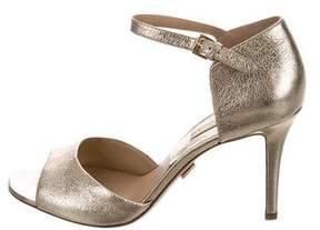 Michael Kors Metallic d'Orsay Sandals