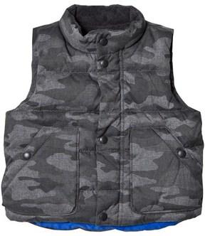 Gap Heather Grey Camo Vest