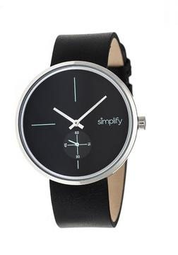 Simplify The 4400 Collection SIM4402 Silver Analog Watch
