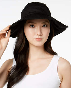 INC International Concepts I.n.c. Solid Floppy Packable Hat, Created for Macy's