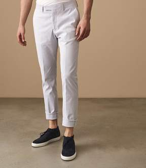 Reiss Lola Fine Striped Slim Fit Trousers