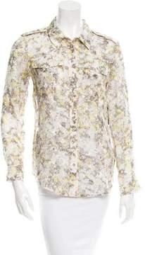 Edun Patterned Silk Top w/ Tags