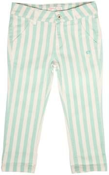 Billieblush Slim Fit Striped Stretch Denim Jeans