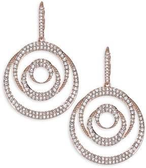 Adriana Orsini Women's Spiral Post Earrings