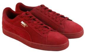 Puma Classic Tonal Red Dehlia Mens Lace Up Sneakers