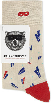 Boy London Paper plane cotton socks
