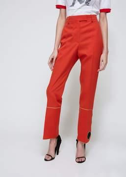 Calvin Klein Wool Cigarette Trousers