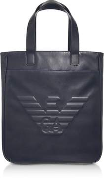 Emporio Armani Black Eagle Men's Vertical Tote Bag