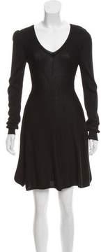 Altuzarra Rib-Knit Mini Dress