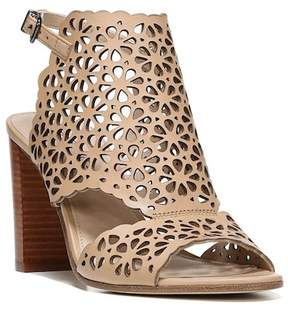 Via Spiga Garnet Perforated Ankle Strap Sandal