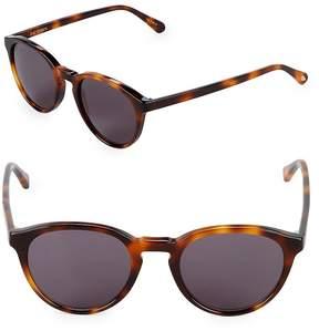 Zac Posen Women's Kylian 48MM Round Sunglasses