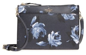 Kate Spade Cameron Street Clarise Leather Shoulder Bag - Blue - BLUE - STYLE