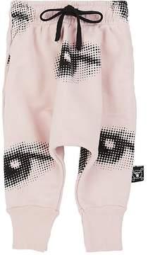 Nununu Eye-Print Cotton Sweatpants
