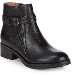 Gentle Souls Percy Leather Moto Ankle Boots
