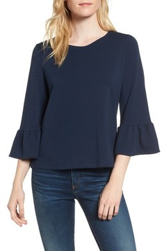 Amour Vert Women's Bernadette Bell Sleeve Sweatshirt