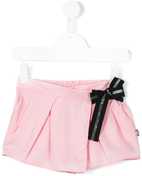 Karl Lagerfeld wrap front shorts