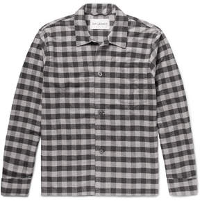 Our Legacy Gingham Cotton-Flannel Overshirt