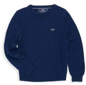 Vineyard Vines Toddler's, Little Boy's & Boy's Crewneck Cotton Sweater