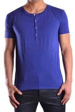 CNC Costume National Men's Blue Cotton T-shirt.
