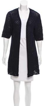 Allude Open Front Longline Cardigan