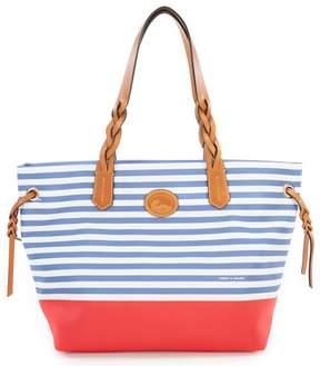 Dooney & Bourke Sullivan Collection Nylon Stripe Colorblock Shopper