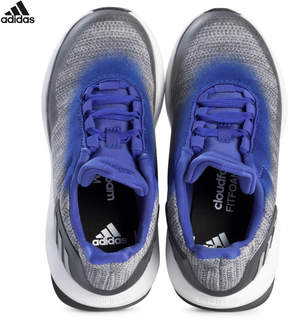 adidas Grey and Blue RapidaRun Uncaged Trainers