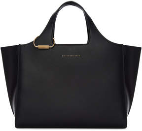 Victoria Beckham Black Newspaper Bag