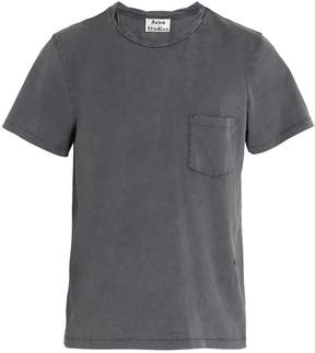 Acne Studios Jude twisted-ribbed crew-neck cotton T-shirt