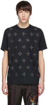 Diesel Black T-Wynn Eyelets T-Shirt