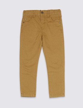 Marks and Spencer Pure Cotton Trousers (3 Months - 5 Years)