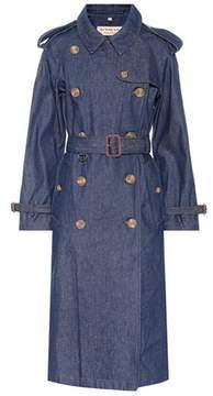 Burberry Denim trench coat