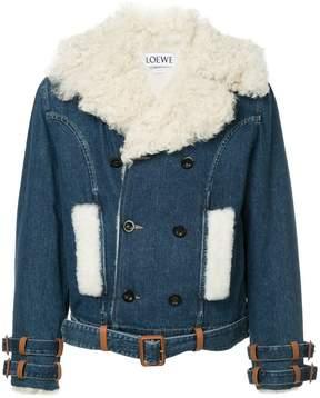 Loewe embellished collar jacket