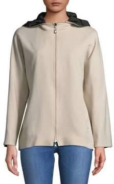 Cinzia Rocca Reversible Zip Hooded Jacket