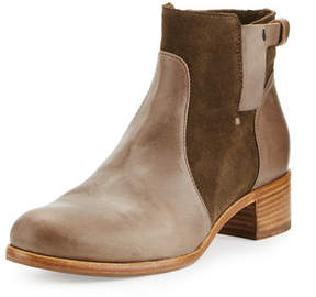 Alberto Fermani Viola Leather & Suede Bootie