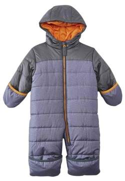Carter's Infant Boy Quilted Gray Snowsuit Baby Bunting Pram Snow Suit 6-9m