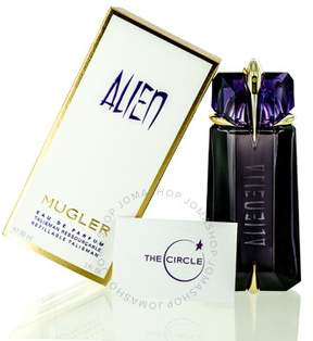 Thierry Mugler Alien Talisman by EDP Spray Refillable 3.0 oz (90 ml) (w)