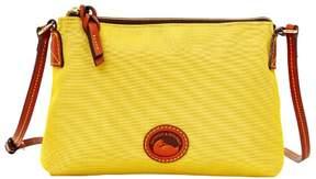Dooney & Bourke Nylon Crossbody Pouchette Shoulder Bag - YELLOW - STYLE
