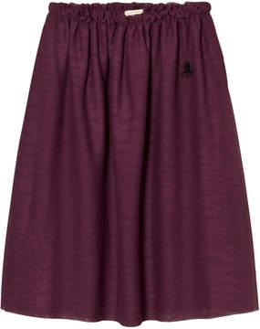 Bobo Choses Purple Tulle Maxi Skirt