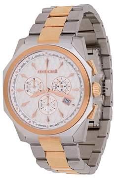 Roberto Cavalli round face wrist watch