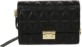 Michael Kors Quilted Shoulder Bag - BLACK - STYLE