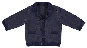 Mayoral Knit Shawl-Collar Cardigan, Size 6-36 Months