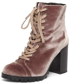 Dorothy Perkins Blush 'Anthea' Lace Up Boots